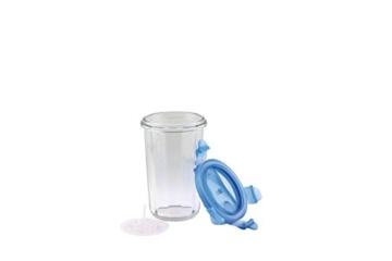 Glasslock Shaker, Glas, Blau/Transparent, 9 x 9 x 14.1 cm, 2-Einheiten - 4