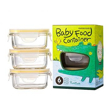 Glasslock Baby Meal Set rechteckig, 3 Teile - 1