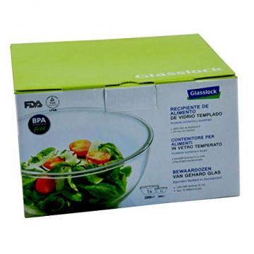 Glasslock Frischhaltebehälter rund, klein, 2er-Set (1000 ml, 2000 ml) - 1