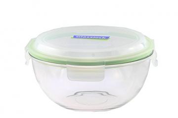 Glasslock (MBCB-200, 2L) Frischhaltedose aus Glas - Salatschüssel Typ (2L) - 1
