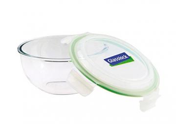 Glasslock (MBCB-200, 2L) Frischhaltedose aus Glas - Salatschüssel Typ (2L) - 2