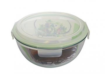 Glasslock (MBCB-200, 2L) Frischhaltedose aus Glas - Salatschüssel Typ (2L) - 3