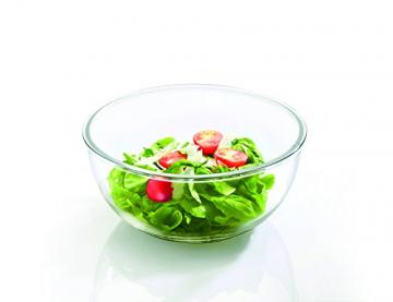 Glasslock (MBCB-200, 2L) Frischhaltedose aus Glas - Salatschüssel Typ (2L) - 4