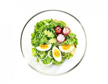 Glasslock (MBCB-200, 2L) Frischhaltedose aus Glas - Salatschüssel Typ (2L) - 5