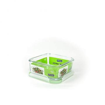 Glasslock Mikrowellen-Glasbehälter, quadratisch, 900 ml - 2
