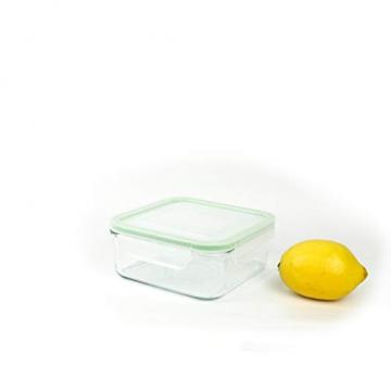 Glasslock Mikrowellen-Glasbehälter, quadratisch, 900 ml - 3