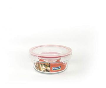 GLASSLOCK (OCCT-085, 850ml Runde Vorratsdosen aus temperiertem Glas Ofen Typ - 1