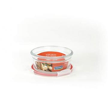 GLASSLOCK (OCCT-085, 850ml Runde Vorratsdosen aus temperiertem Glas Ofen Typ - 2