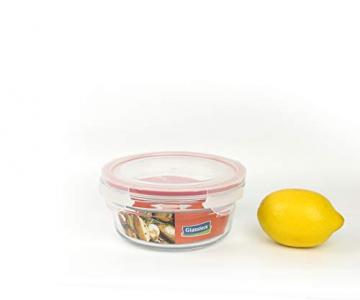 GLASSLOCK (OCCT-085, 850ml Runde Vorratsdosen aus temperiertem Glas Ofen Typ - 4