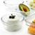 GLASSLOCK (OCCT-085, 850ml Runde Vorratsdosen aus temperiertem Glas Ofen Typ - 5