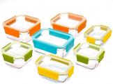 Glasslock Premium 18-teiliges Set ungiftig Geschirrspüler, Mikrowelle und Gefrierschrank Sichere Lebensmittel Container - 1