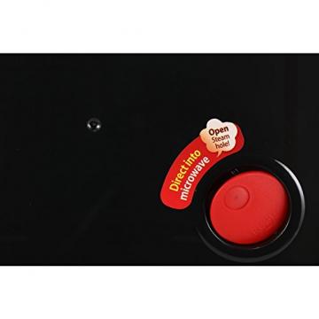 LOCK & LOCK Frischhaltedose aus Glas mikrowellengeeignet - Oven Glass - Auflaufform eckig mit Deckel für Backofen, Mikrowelle & Zum Einfrieren, 2 Liter - 4