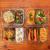 2-er Set Frischhaltedosen Glas Aufbewahrungsbox Auslaufsicher Lunchbox, 2 Luftdichte Fächer, Größe XL 1040 mL - Brotzeitdose Bento Box aus Glas BPA-frei - Meal-Prep-Box, Vorratsbehälter, Gefrierdosen - 7