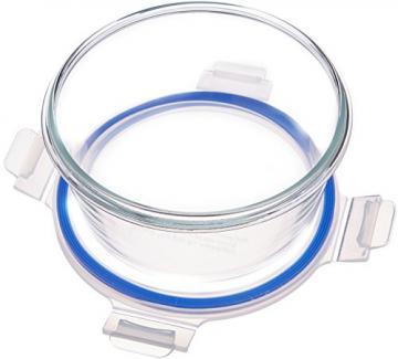AmazonBasics - Frischhaltedosen aus Glas für Lebensmittel, mit Deckel, 14 -teiliges set (7 Behälter + 7 Deckel), BPA-freie - 2