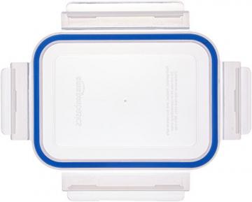 AmazonBasics - Frischhaltedosen aus Glas für Lebensmittel, mit Deckel, 14 -teiliges set (7 Behälter + 7 Deckel), BPA-freie - 3
