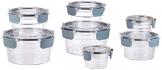 AmazonBasics - Tritan-Frischhaltedose mit Verschluss, 14er-Packung (7 dosen + 7 deckeln) - 1
