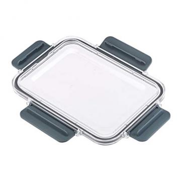 AmazonBasics - Tritan-Frischhaltedose mit Verschluss (5 dosen + 5 deckeln) - 4