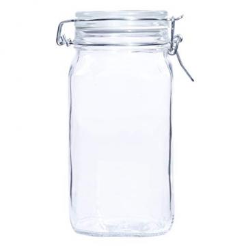 Bormioli Fido Gläser mit Bügelverschluss 6 teilig   Füllmenge 1,5 L   Luftdichte Konservierung durch den Gummiring sowie den Drahtbügelverschluss - 8