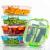 Crest 10er-Set Glas-Frischhaltedosen [fünf Farben pro Set] luftdicht, BPA-Frei, Vorratsdosen, Vesperbox Set, Geeignet für Mikrowelle, Gefrierschrank und Spülmaschine - 4
