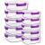 Crest [10er Set] Groß Glas Frischhaltedosen, Luftdicht, Auslaufsichere, BPA-Frei, Purpur - 5