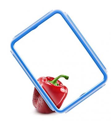 Emsa 508570 Clip & Close Frischhaltedosen | 3-teiliges Set | 3 x 0,55 L | -40 bis +100 Grad | Kunststoff | 100 % Dicht | Besondere Frische-Dichtung - 5