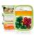 FITPREP® - Frischhaltedosen aus Glas [4 Stück-1040 ml] - 2 komplett dichte & getrennte Fächer - perfekte Meal Prep Boxen, inkl. schönem Rezeptheft - tolle Glasbehälter mit Deckel - 1