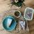FITPREP® Frischhaltedosen aus Glas mit Deckel [5 Stück - 840ml] - super für Meal Prep - Glasbehälter mit Deckel der 100% dicht ist - inkl. schönem Rezeptheft - 6