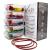 Franklin Lade® 5-teiliges Glas-Frischhaltedosen-Set 860ml   BPA-freie, Luftdichte, Auslaufsichere Deckel   Perfekte Meal Prep Lunchboxen   Mikrowellen-, Ofen, Gefrierschrank & Spülmaschinenfest - 1