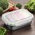 GA Homefavor Lunch Box Edelstahl Lebensmittel Obst Salat Container (2er Set) - 6