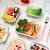 GENICOOK Glas-Frischhaltedose Set 9er,Glas aufbewahrungsbehälter,Glas vorratsdosen mit Deckel für küche,lebensmittelbehälter aus Glas, Meal prep Boxen, BPA-frei-Glasbehälter - 3
