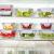 Glas-Frischhaltedosen [10er Set] Vorratsbehälter mit Deckel, Luftdicht, Rechteckig Glas, Geeignet für Mikrowelle, Gefrierschrank und Spülmaschine - 3