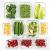 Glas-Frischhaltedosen [10er Set] Vorratsbehälter mit Deckel, Luftdicht, Rechteckig Glas, Geeignet für Mikrowelle, Gefrierschrank und Spülmaschine - 6