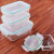 Glas-Frischhaltedosen 18 Stück [9 Behälter + 9 Deckel] - Glasbehälter - Transparente Deckel - BPA frei - für Home Küche oder Restaurant - von KICHLY - 5