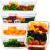 Glas Frischhaltedosen | 5er Set 840ml | 97% weniger Kunststoffverpackungen | Meal Prep Glas | Aufbewahrungsbox Glas Mit Deckel | Glas Dosen Set Mit Deckel | Glas Lunchbox | Einfrierbehälter Glas - 1