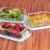 Glas-Frischhaltedosen 6 Stück [3 Behälter + 3 Deckel] - Glasbehälter - Transparente Deckel - BPA frei - FDA-zugelassene Behälter - für Home Küche oder Restaurant von KICHLY - 7