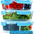 Glas Lebensmittelbehälter mit 1, 2 & 3 Fächern und Deckel [3er Pack, 950ml] - Glasbehälter, Glas Mahlzeit Prep Container, Glas-Lebensmittel-Box, Brotzeitboxen, Lunchbox, Frischhaltedosen Luftdicht - 2