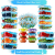 Glas Lebensmittelbehälter mit 1, 2 & 3 Fächern und Deckel [3er Pack, 950ml] - Glasbehälter, Glas Mahlzeit Prep Container, Glas-Lebensmittel-Box, Brotzeitboxen, Lunchbox, Frischhaltedosen Luftdicht - 5