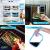 Glas Lebensmittelbehälter mit 1, 2 & 3 Fächern und Deckel [3er Pack, 950ml] - Glasbehälter, Glas Mahlzeit Prep Container, Glas-Lebensmittel-Box, Brotzeitboxen, Lunchbox, Frischhaltedosen Luftdicht - 6