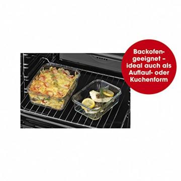 GOURMETmaxx Glas-Frischhaltedosen Klick-it 8-tlg. - 5