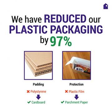 Home Planet Lunchbox Glas 3 Fach | 1050ml 3er Set | 97% weniger Kunststoffverpackungen | Meal Prep Boxen Glas | Mealprepdosen Glas | Meal Prep Glas | Bento Box Glas | Meal Prep Containers Glas - 6