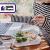 Home Planet Lunchbox Glas 3 Fach | 1050ml 3er Set | 97% weniger Kunststoffverpackungen | Meal Prep Boxen Glas | Mealprepdosen Glas | Meal Prep Glas | Bento Box Glas | Meal Prep Containers Glas - 8