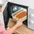 KICHLY Glas-Frischhaltedosen 12 Stück [6 Behälter + 6 Deckel] - Glasbehälter - Transparente Deckel - BPA frei - für Home Küche oder Restaurant - 7