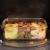 Küche Glas Food Container, Brotdose, Babynahrung, Essen Prep, umweltfreundlich Vorratsdosen mit airtigh Deckel, BPA-frei, Borosilikatglas, Pasta, Salat, stapelbar 9 Pcs Set Clear & Blue - 3