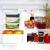 Küche Glas Food Container, Brotdose, Babynahrung, Essen Prep, umweltfreundlich Vorratsdosen mit airtigh Deckel, BPA-frei, Borosilikatglas, Pasta, Salat, stapelbar 9 Pcs Set Clear & Blue - 4
