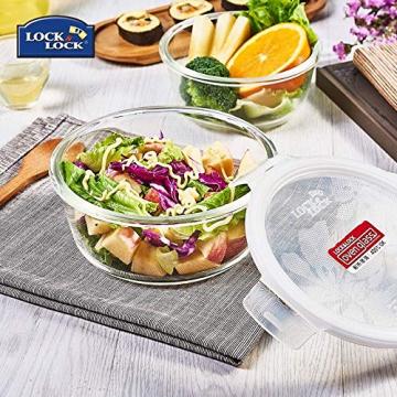 Lock & Lock Glass, Borsilikatglas, rund, 650 ml. (∅ 155 x 75mm) - 11