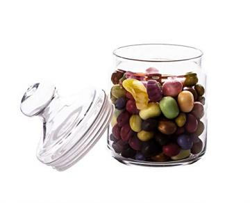 Luminarc ARC 11972 Pot Club Dose mit Deckel, Vorratsglas, Bonbondose, 750 ml, Glas, transparent, 1 Stück - 2