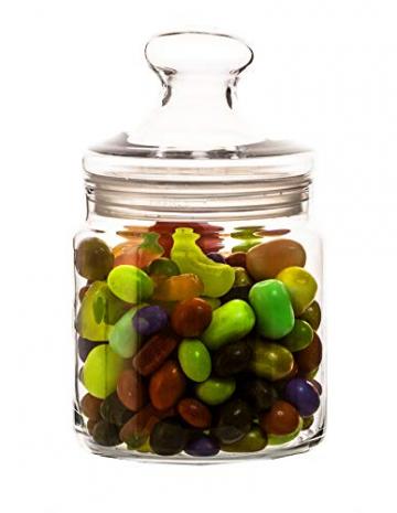 Luminarc ARC 11972 Pot Club Dose mit Deckel, Vorratsglas, Bonbondose, 750 ml, Glas, transparent, 1 Stück - 4