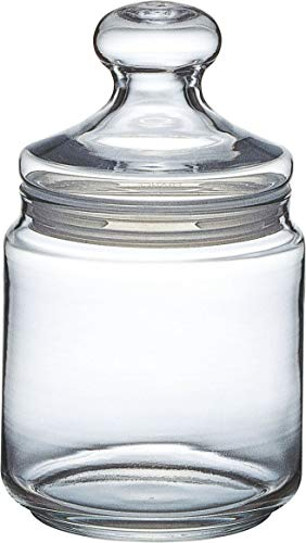 Luminarc ARC 11972 Pot Club Dose mit Deckel, Vorratsglas, Bonbondose, 750 ml, Glas, transparent, 1 Stück - 1