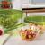 Luminarc ARC G4385 Keep ´n´ Bowl Dose mit Deckel, 4800 ml, Glas, transparent, 1 Stück - 3
