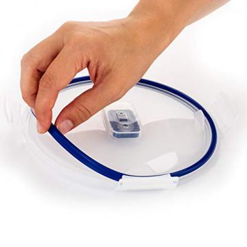 Luminarc Pure Box Active Frischhaltedosen aus Glas, extra stark, BPA-frei, Mikrowelleventil, 5 Stück - 4